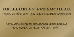 Online Terminvereinbarung Dr. Florian Freyschlag- Hautarzt